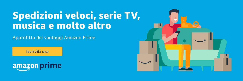 Prova subito Amazon Prime
