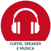 Cuffie, Speaker e Musica