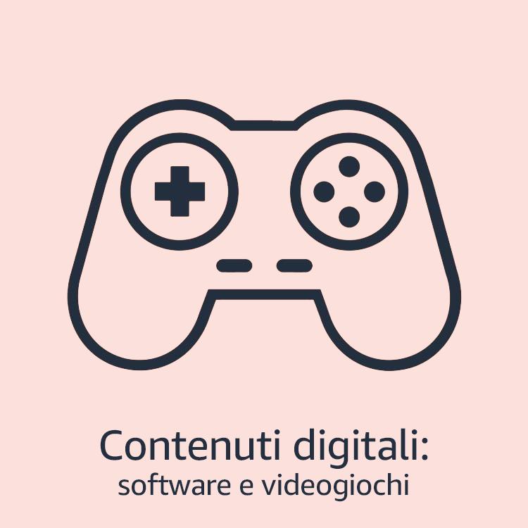 Contenuti digital: software e videogiochi