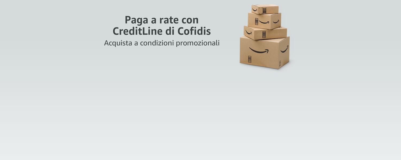 Paga a rate con CreditLine di Cofidis