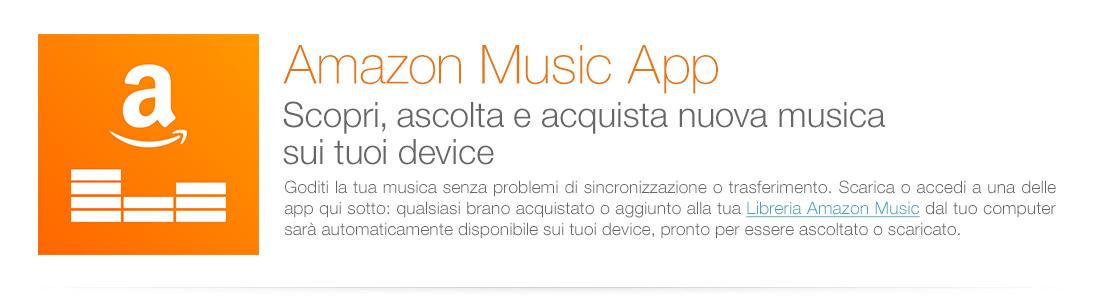 Scopri e acquista nuova musica sui tuoi device