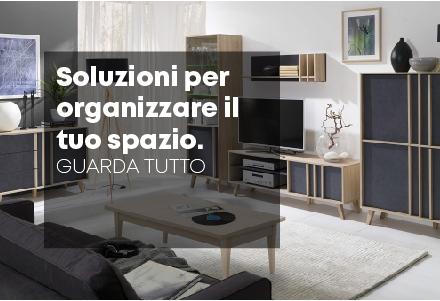 Soluzioni per organizzare il tuo spazio