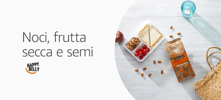 Noci, frutta secca e semi Happy Belly