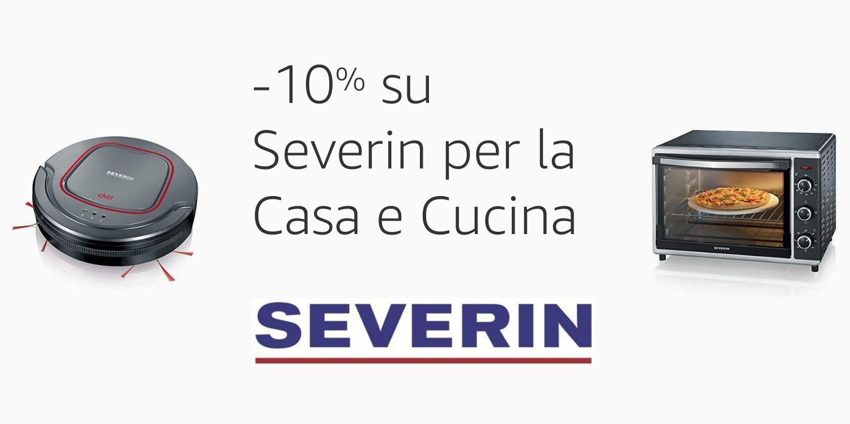 Sconto del 10% sugli elettromestici Severin