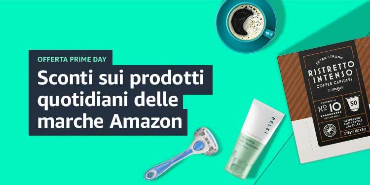 Sconti sui prodotti quotidiani delle marche Amazon