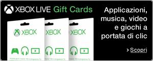 Novità: Xbox Live - Gift Card