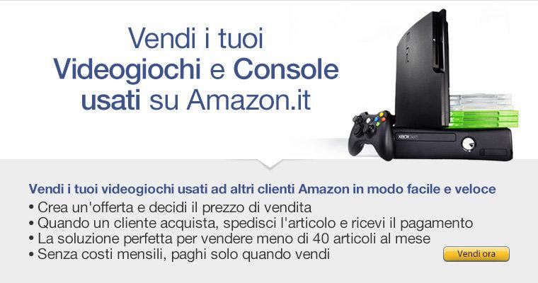 Vendi i tuoi Videogiochi e Console usati su Amazon.it