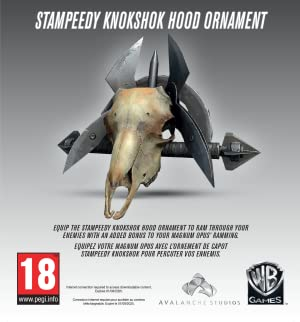 Mad Max - Stampeedy Knokshok Hood Ornament