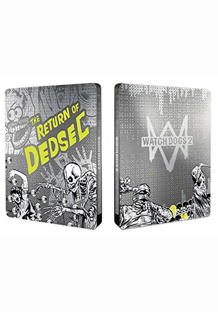 watch dogs 2 steelbook