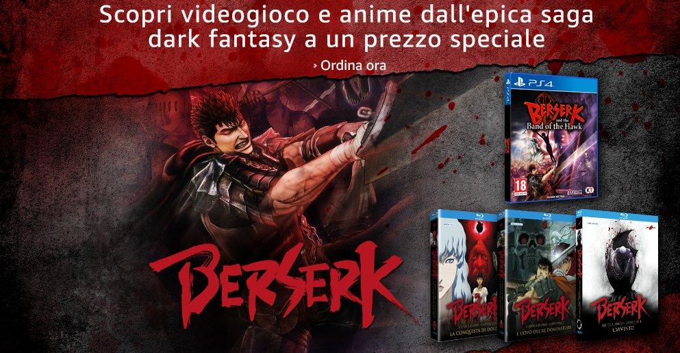 Scopri il videgioco e anime dall'epica saga di Berserk