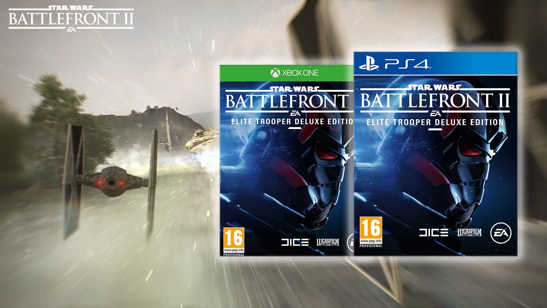 Star Wars Battlefront II Elite Trooper - Deluxe Day-One Limited
