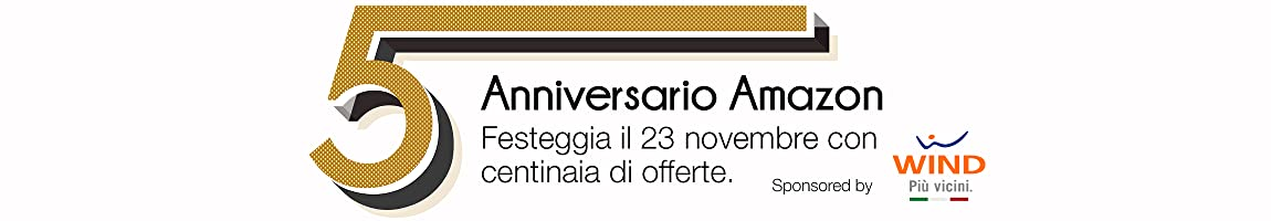 Anniversario Amazon.it