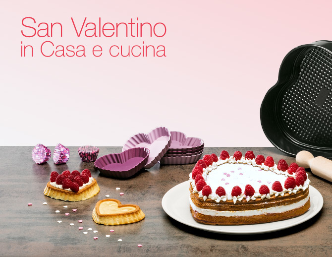 San Valentino in Casa e cucina