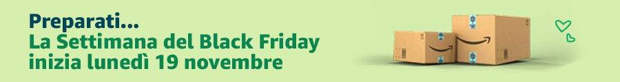 Preparati... la Settimana del Black Friday inizia lunedì 19 novembre