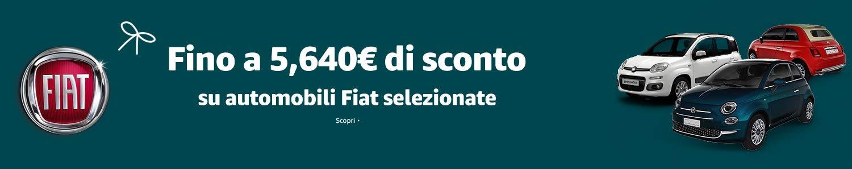 Fino a 5,640 di sconto su automobili Fiat selezionate