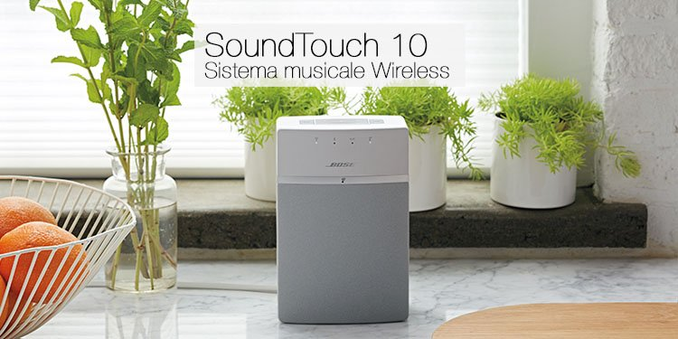 SoundTouch 10 Sistema musicale wireless