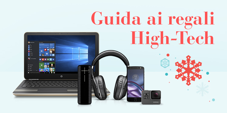 Guida ai regali High-Tech