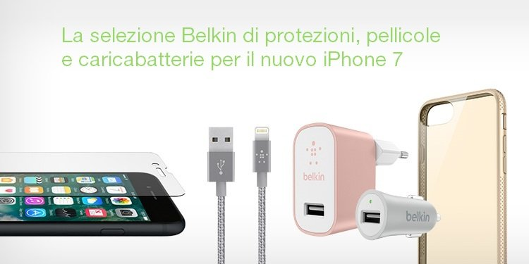 Accessori Belkin per iPhone 7