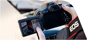 """Canon EOS 650D - schermo LCD """"touch"""" ad angolazione variabile"""