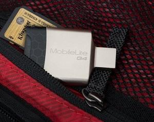 Il fattore di forma metallico rende MobileLite G4 così robusto da resistere agli urti e alle cadute, imprevisti abbastanza frequenti per un dispositivo mobile.