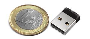 L'unità di memoria flash USB Cruzer Fit USB