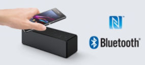 Streaming fluido con NFC e Bluetooth