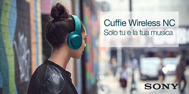 Sony Cuffie Wireless NC