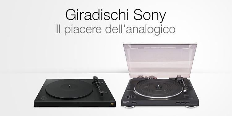 Giradischi Sony