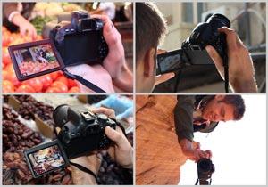 Componi foto e filmati da nuove e interessanti prospettive