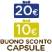 30 euro di buoni sconto capsule