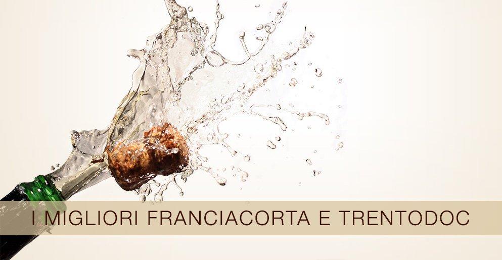 I migliori Franciacorta e Trentodoc