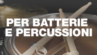 Per batterie e percussioni