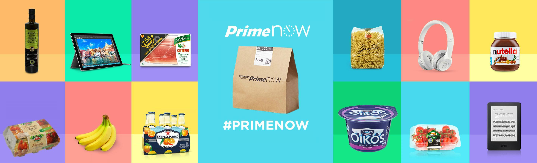 Prime Now: Consegna in 1 ora per migliaia di prodotti
