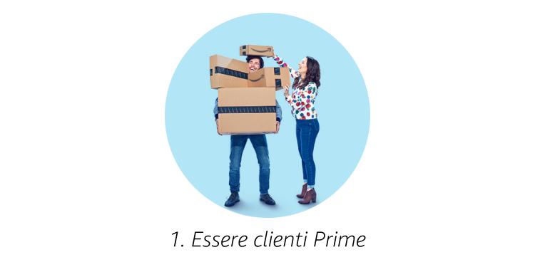 Essere clienti Prime