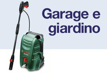Garage e giardino