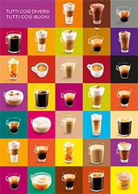 Scopri tutte le bevande in cialda Nescafè Dolce Gusto