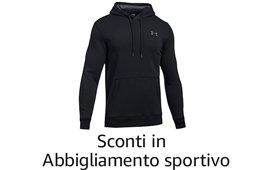 Sconti invernali in Abbigliamento sportivo