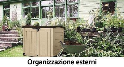 Organizzazione esterni