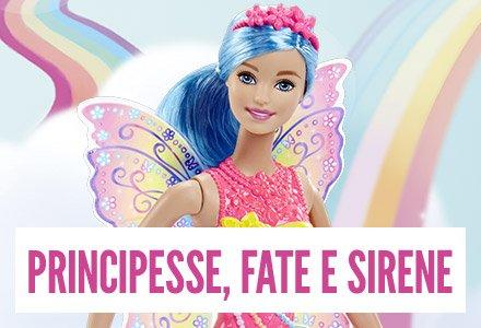 Principesse Fate e Sirene