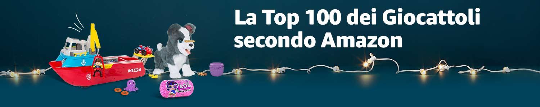 La Top 100 dei Giocattoli secondo Amazon