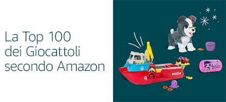 La Top 100 dei Giocattoli secondo adtagcloud.com