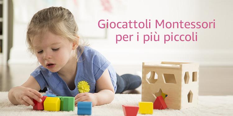 Giocattoli Montessori