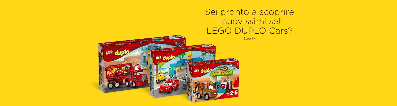 LEGO Duplo Cars 3 promotion