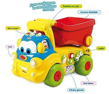 Clementoni 14379 Sansone Camion Chiacchierone Cavalcabile: Amazon.it: Giochi e giocattoli