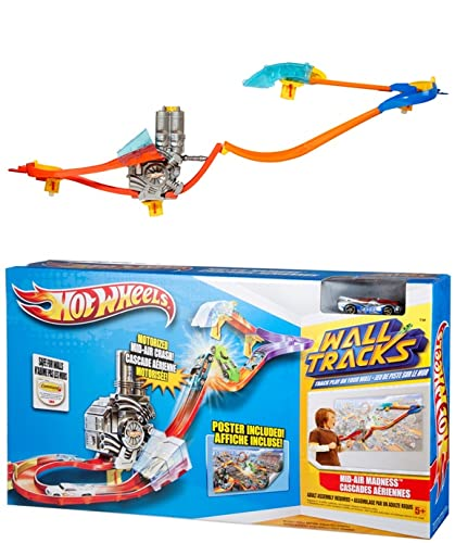 HOT WHEELS Wall Tracks PISTA DA MURO SUPER POTENZA W3431
