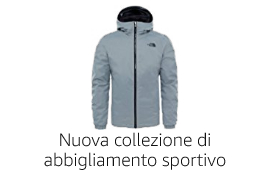 Nuova collezione di abbigliamento sportivo