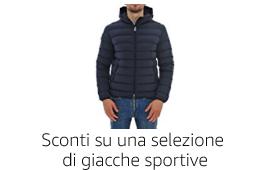 Sconti su una selezione di giacche sportive
