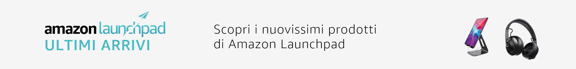 Amazon Launchpad - ultimi arrivi