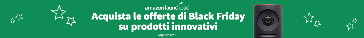 Amazon Launchpad: Offerte di Black Friday