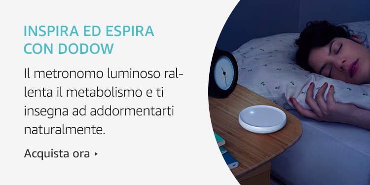 Amazon Launchpad: Inspira ed espira con Dodow